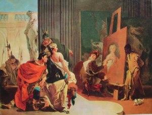 6 Gian Battista Tiepolo - Alessandro e Campaspe nello studio di Apelle
