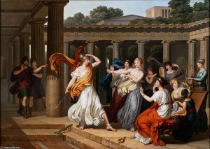 Louis+Gauffier-Odysseus+Recognises+Achilles+Amongst+The+Daughters+Of+Lycomedes