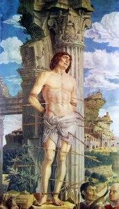 28 Mantegna - San Sebastiano