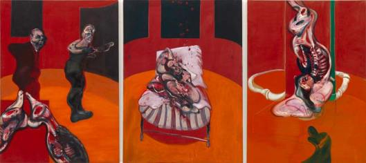 Bacon_Three-Studies-for-a-Crucifixion_1962