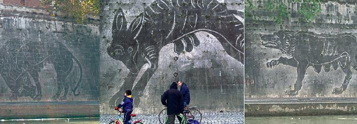 william-kentridge-sponde-del-tevere-intervento-murale-site-specific-figure-mitologiche-con-lo-smog-labrouge