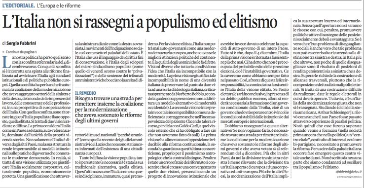 populismo 1 sole